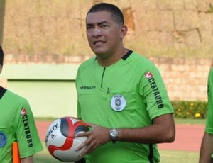 Wladyerisson Oliveira. árbitro (Foto: Divulgação)