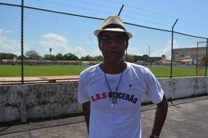 Adervani Baraquinha; Futebol; Amapá (Foto: Rafael Moreira/GE-AP)