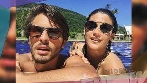 Giulia Costa e Brenno Leone estão se 'conhecendo melhor' (Foto: TV Globo)