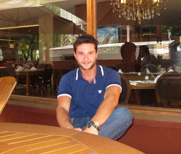 Ronaldo Peres, BBB 12 (Foto: Barbara Muniz/EGO)