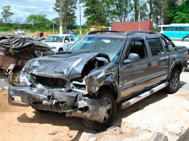 acidente (Foto: Anderson Oliveira / Blog do Anderson)