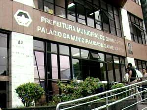 Fachada da Prefeitura de Divinópolis (Foto: Reprodução / TV Integração)