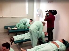 Globo Universidade conhece o curso de Quiropraxia da Universidade Anhembi Morumbi (Foto: Reprodução)