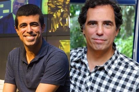 Marcius Melhem e Maurício Farias (Foto: TV Globo)