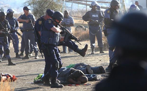 áfrica do sul mineiros (Foto: AP)