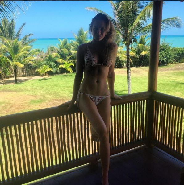 Fiorella Mattheis em Trancoso (Foto: Reprodução / Instagram)