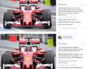 """Hamilton e Nico divergem sobre """"halo"""". Pai de Bianchi mostra descrença"""