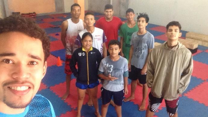 delegação amapaense do taekwondo (Foto: Bruno Igreja/Divulgação)