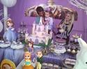Filha de Coentrão ganha festa de princesa no aniversário de 4 anos
