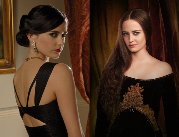 Eva Green: como Vesper Lynd em 'Casino Royale' (2006) e em 'Camelot' (2011) (Foto: Divulgação/MGM/Starz)