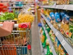 Cesta Básica Economia´Carrinho de Compras Supermercado JG (Foto: Reprodução: TV Globo)