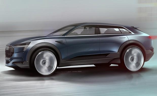 Audi e-tron quattro concept estreia em setembro (Foto: Divulgação)