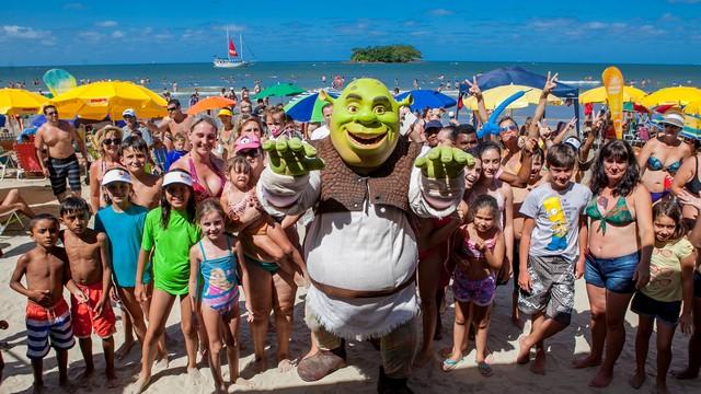 Personagem Shrek também estará no Campeche (Foto: José Luiz Somensi/Divulgação)