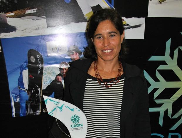 Isabel Clark prêmio CBDN (Foto: João Gabriel)