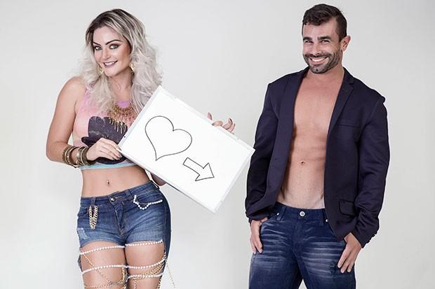 Laura Keller e Jorge Sousa (Foto: Marco Mello / Divulgação)