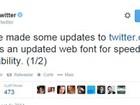 Twitter muda fonte para melhorar leitura e adiciona opções de cores