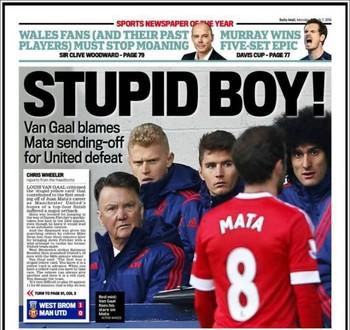 Juan Mata Daily Mail (Foto: Daily Mail)