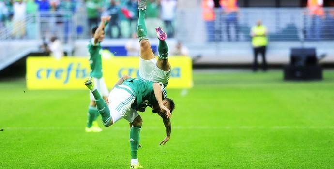 Palmeiras x Santos - Leandro Pereira (Foto: Marcos Ribolli)
