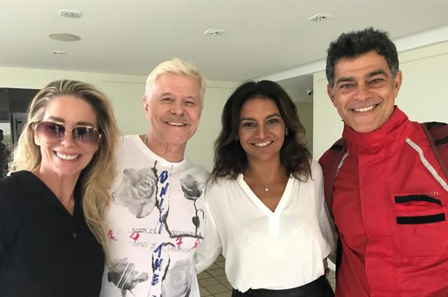 Danielle Winits, Miguel Falabella, Dira Paes e Eduardo Moscovis (Foto: Divulgação)