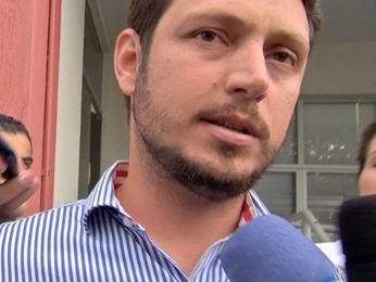 Rodrigo da Cunha Barbosa foi preso durante operação policial em Cuiabá (Foto: Reprodução/TVCA)