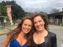 Encontro de Tancinhas! Claudia Raia e Mariana Ximenes posam juntas