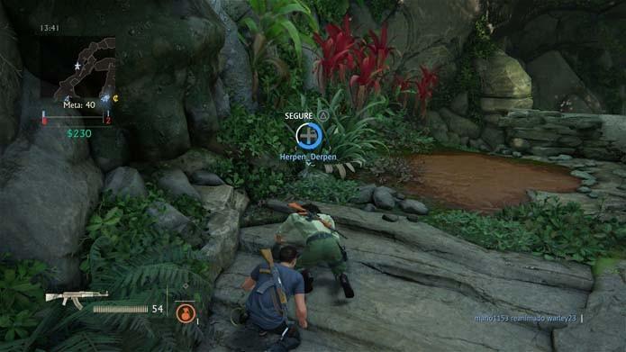 Trabalho em equipe é a melhor estratégia em Uncharted 4 (Foto: Reprodução/Murilo Molina)