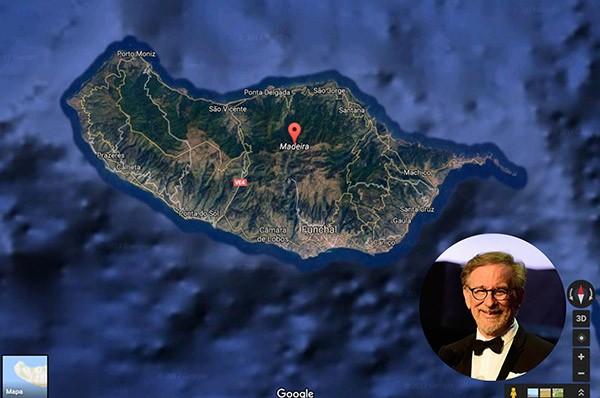 Steven Spielberg – Ilha da Madeira, Portugal (Foto: Google / Getty Images)
