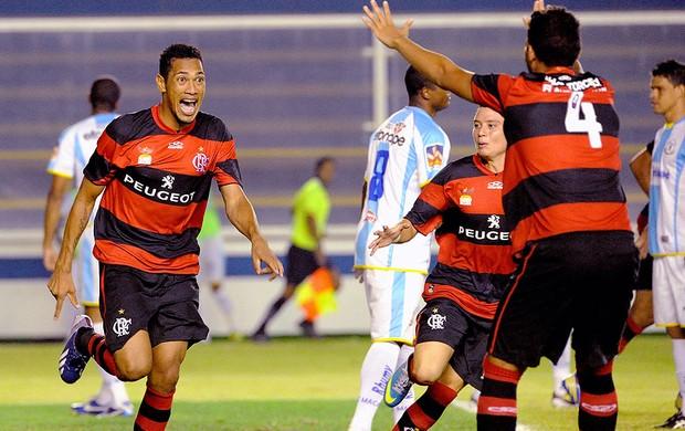 Hernane gol jogo Flamengo Macaé (Foto: Alexandre Vidal / Fla Imagem)