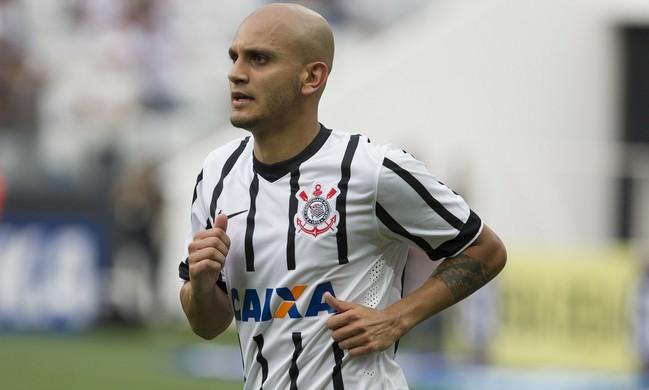 Fábio Santos Corinthians x Botafogo-SP (Foto: Daniel Augusto Jr/Agência Corinthians)