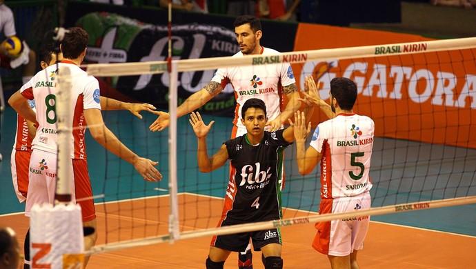 Danyel - jogador paraense de vôlei (Foto: Divulgação / Brasil Kirin Vôlei)