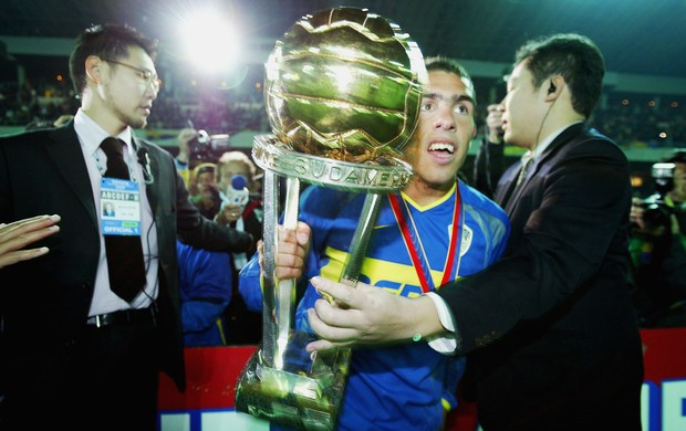 Tevez Boca Juniors em 2003