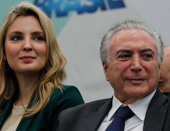 Marcela e Michel Temer (Foto: Marcos Corrêa/PR)