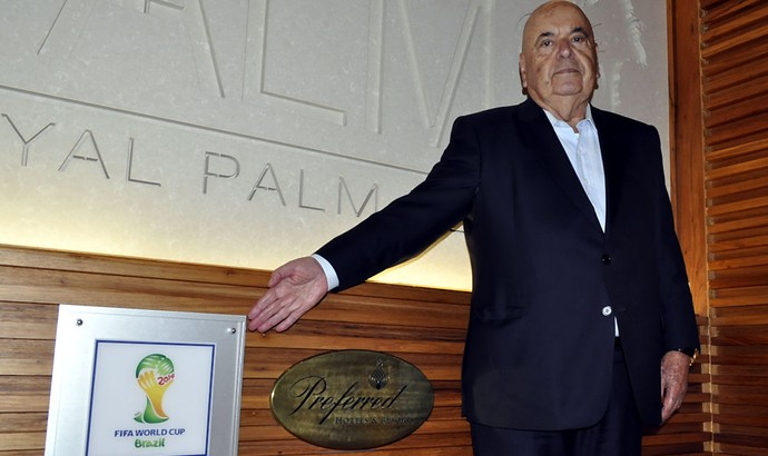 Armindo Dias The Palms Hotel Portugal Campinas Seleção Copa do Mundo (Foto: Fernando Pacífico)