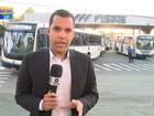 Rodoviários fazem protesto e atrasam saída de ônibus em Caxias do Sul
