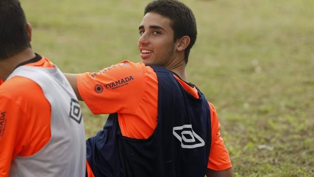 Thiago Galhardo agora ficar à disposição do técnico Flávio Araújo (Foto: Marcelo Seabra/O Liberal)
