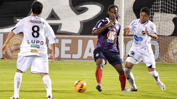 jogo entre Bahia e ABC (Foto: Frankie Marcone / Ag. Estado)