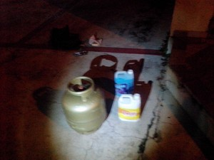 Homem confessou que os produtos eram furtados (Foto: Divulgação/Guarda Municipal)