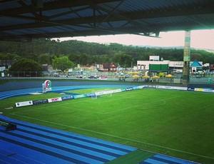 Estádio SESI Bluemenau Metropolitano (Foto  Gabriel Fronzi  89.5 FM  Joinville) 230405fb1a337