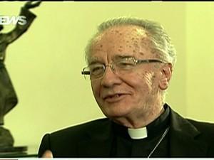 Dom Claudio Hummes (Foto: Reprodução Globo News)