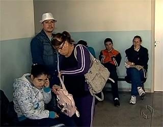 Paraná TV posto de saude  (Foto: Reprodução/ RPC TV)