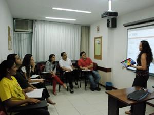 Sala de aula do Ibeu, um dos centros autorizados a aplicar o Toefl no RJ (Foto: Divulgação/Ibeu)