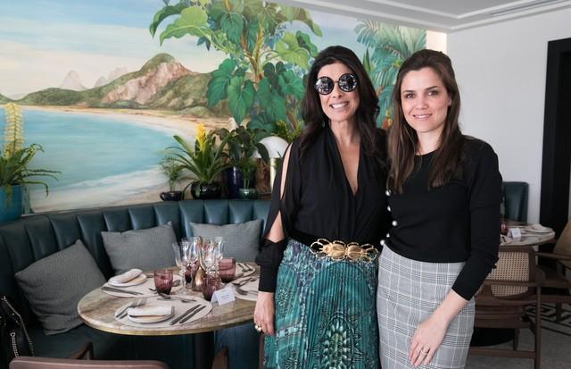 Patricia Brandão e Milena Penteado (Foto: Divulgação)