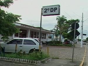 2º DP em Mogi das Cruzes (Foto: Reprodução/TV Diário)