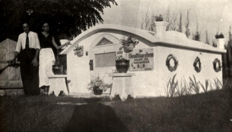 O mausoléu de Elena (Foto: Florida Public Library)