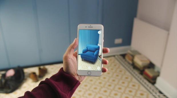 ikea, aplicativo, móveis, (Foto: Divulgação)