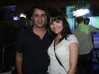 Vanessa Giácomo curte festa em São Paulo com novo namorado