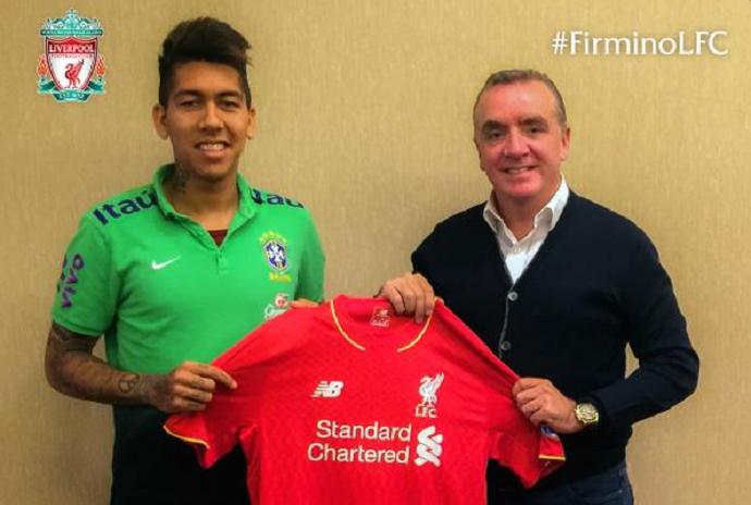 Roberto Firmino Liverpool (Foto: Divulgação / Liverpool)