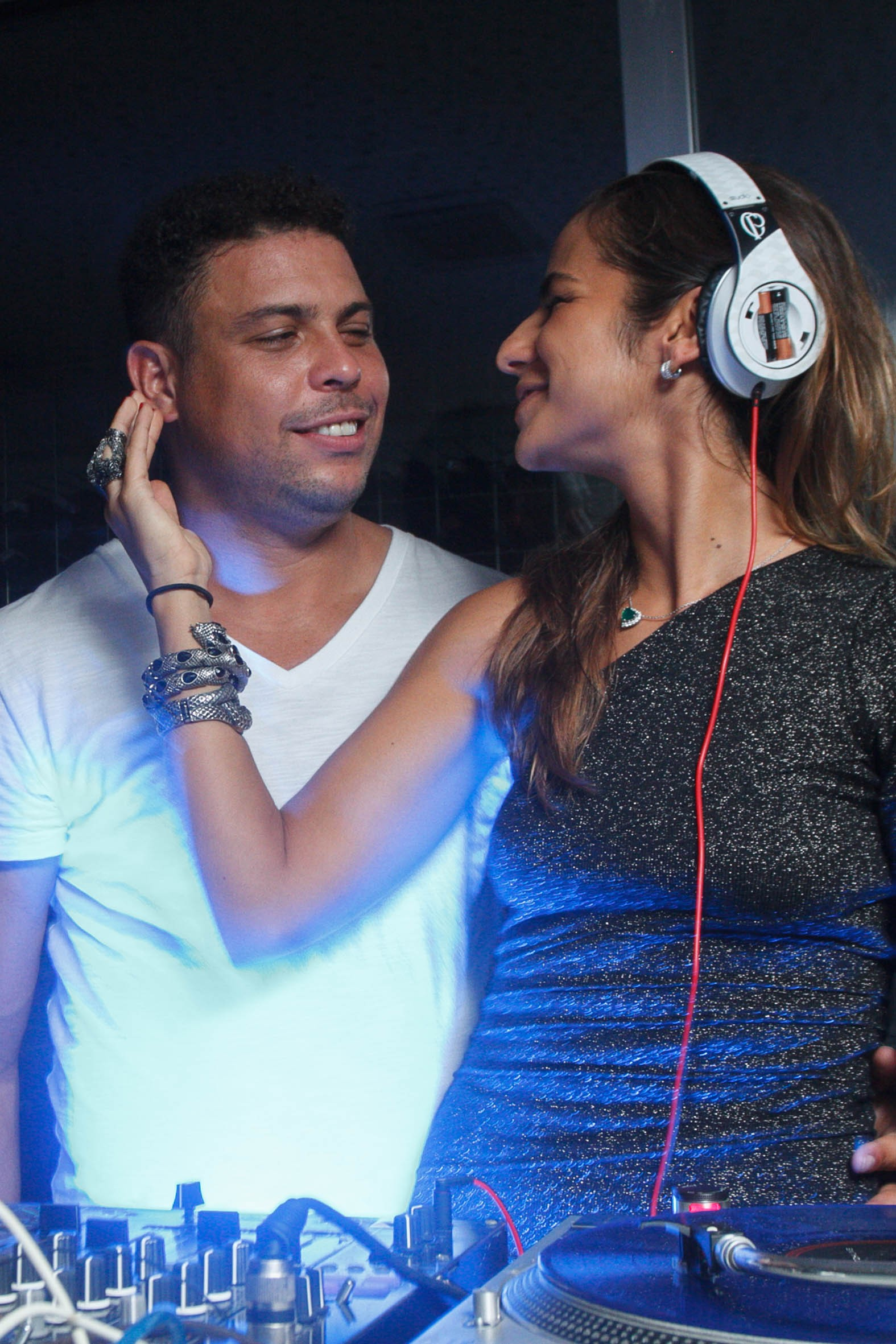 Ronaldo e Paula Morais (Foto: Marcos Samerson / Agência We Love Photo!)