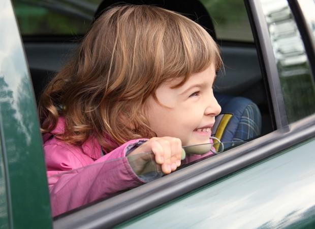 viagem; crianca; carro (Foto: Shutterstock)
