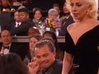 Noivo de Lady Gaga confronta Leonardo Dicaprio após prêmio, diz site